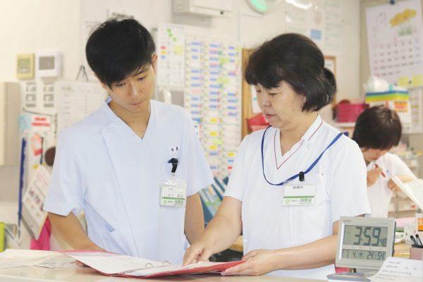 リハビリテーション病院で働きながら学ぶ