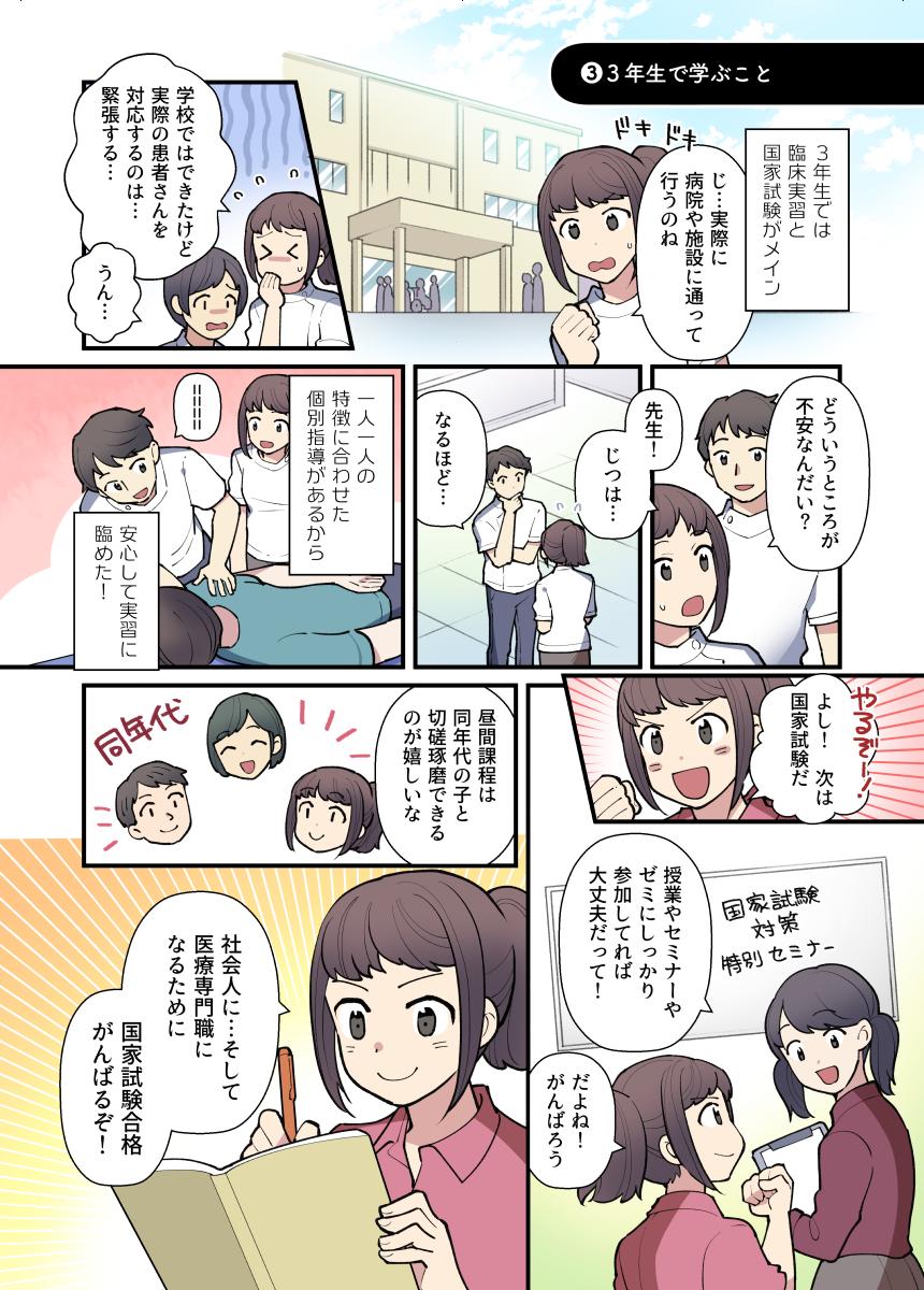 理学療法士への道【高校生編】その3